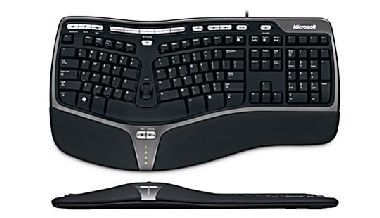 Microsoft Natural Ergonomic Keyboard 4000 / Klávesnice / USB / EN