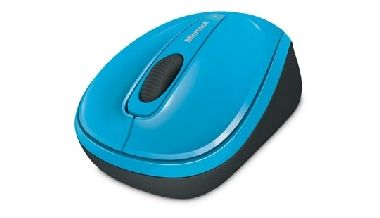 Microsoft Wireless Mobile Mouse 3500 / BlueTrack / Myš / USB / Cyan Blue