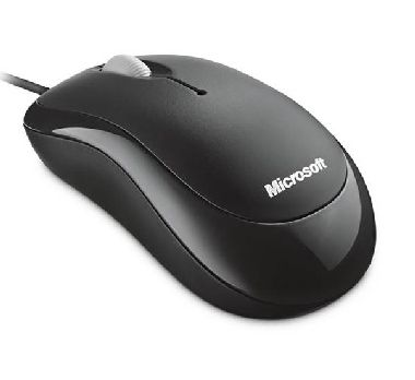 Microsoft Basic Optical Mouse Mac+Win / Myš / USB / Černá