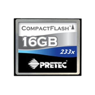 Pretec Cheetah II CompactFlash 16GB / 233x / 35MB/s