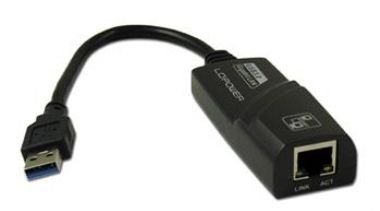 LC Power USB 3.0 <-> Gigabit Ethernet (RJ45) adaptér