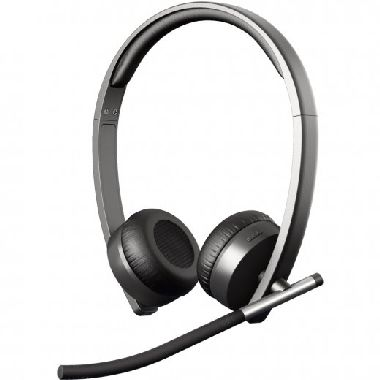 Logitech Wireless Headset Dual H820e / business / černá