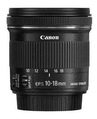 Canon EF-S 10-18mm / f 4,5-5,6 / IS STM