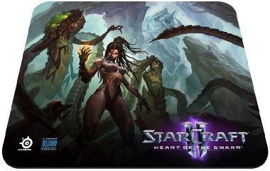 SteelSeries QCK Starcraft II Heart of the Swarm Kerrigan Edition