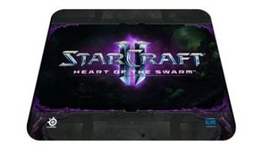 STEELSeries QCK Starcraft II Heart of the Swarm Logo Edition