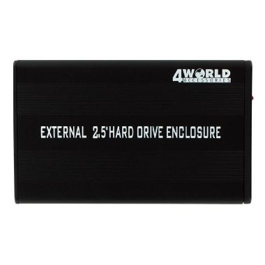 "4World Box na externí  HDD 2.5"" IDE na USB"