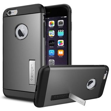 "Spigen Slim Armor pouzdro pro Apple iPhone 6 Plus / 5.5"" / Gunmetal"