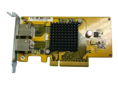 QNAP LAN-1G2T-U Dual Port GbE card (Rack)
