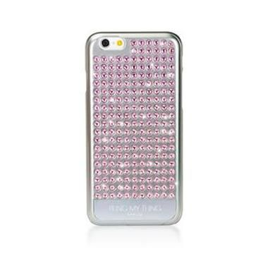 Bling My thing zadní kryt Extravaganza Pure Light Rose pro Apple iPhone 6 / Made with Swarovski Elements