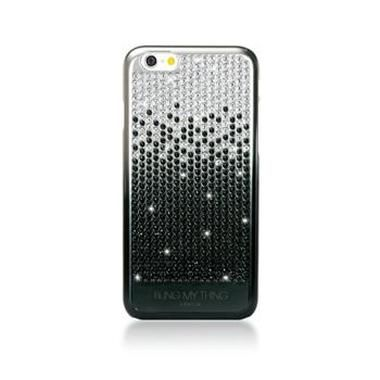 Bling My thing zadní kryt Vogue Brilliant Onyx pro Apple iPhone 6 / Made with Swarovski Elements