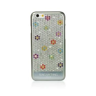 Bling My thing zadní kryt Vogue Moonlight Flower Field pro Apple iPhone 6 / Made with Swarovski Elements