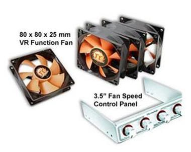 THERMALTAKE A1873 3,5 DRIVE BAY FAN KIT / 4x 80MM FAN + 3.5 SPEED CONTROL PANEL)