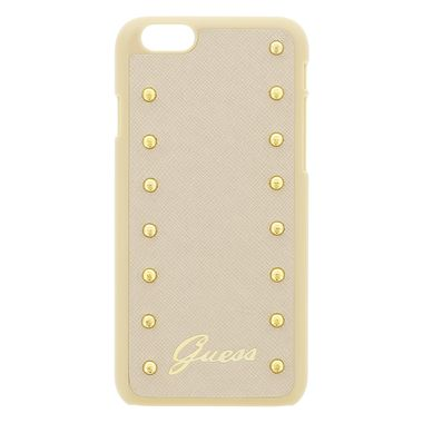 GUESS Studded zadní kryt pro Apple iPhone 6 Plus / Cream