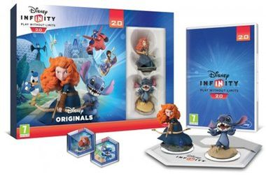 PS4 Disney Infinity 2.0: Disney Originals Toy Box Combo Pack / Playstation 4
