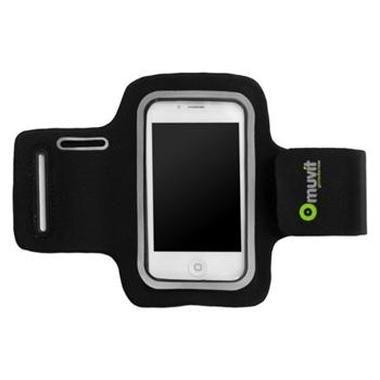 Muvit sportovní pouzdro pro Apple iPhone 4 a 4S   neopren   černé ... 3cae77aa18f