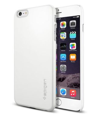 "Spigen Thin Fit kryt pro Apple iPhone 6 Plus / 5.5"" / Smooth white"