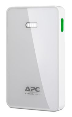 APC Mobile Power Pack / 5000mAh / Li-polymer / bílá