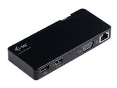 i-Tec Travel Docking Station Advance / dokovací stanice / HDMI / VGA / USB 3.0