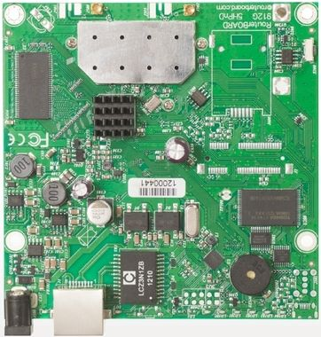 Mikrotik RB911G-2HPnD / RouterBoard / 802.11b/g/n / RouterOS L3 / 2xMMCX