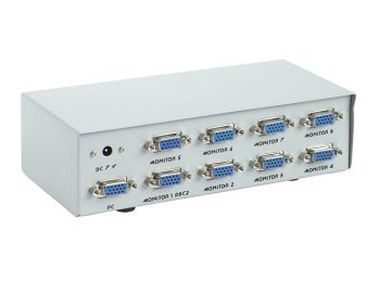 Gembird GVS128 / Video Splitter / 8 porty