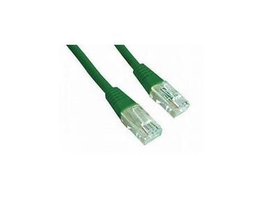 Gembird Patch kabel RJ45 / cat. 5e / UTP / 1.5m / zelená