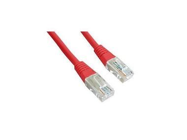 Gembird Patch kabel RJ45 / cat. 5e / UTP / 1.5m / červená