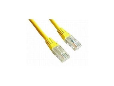 Gembird Patch kabel RJ45 / cat. 5e / UTP / 1.5m / žlutá