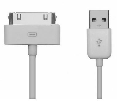 SBS datový kabel pro Apple / iPhone / iPad / iPod / 1m / bílý