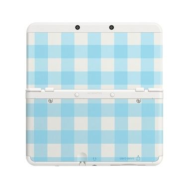 New 3DS Cover Plate 13 (Blue Mix) / modrý