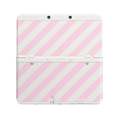 New 3DS Cover Plate 14 (Pink Mix) / růžový