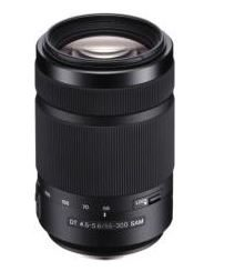 SONY SAL55300 / DT 55–300 mm / F4.5–5.6 SAM
