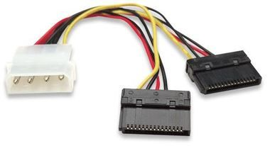 Manhattan Power Converter Molex - 2x SATA