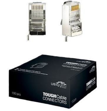 UBNT TOUGHCable Connectors Box (100 ks) Cat. 5  / RJ-45 Plug / stíněný