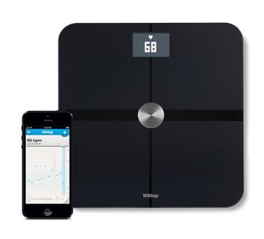 Withings Smart Body Analyzer WS-50 / váha / Wi-Fi / Bluetooth / černá