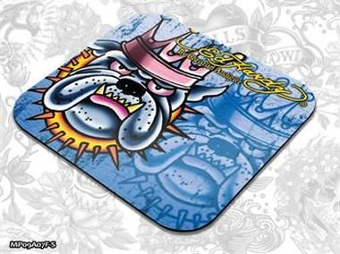 ED HARDY Mouse Pad Small Fashion 2 - King Dog Blue / podložka pod myš