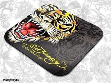 ED HARDY Mouse Pad Small Fashion 2 - Tiger black / podložka pod myš