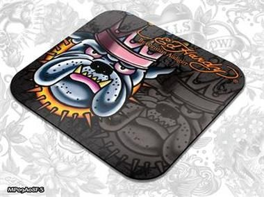 ED HARDY Mouse Pad Small Fashion 2 - King Dog Brown / podložka pod myš