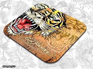 ED HARDY Mouse Pad Larger Fashion 2 - Tiger gold / podložka pod myš
