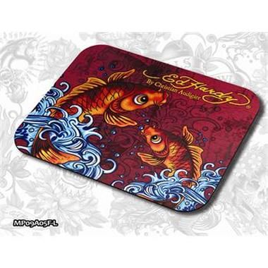 ED HARDY Mouse Pad Larger Fashion 2 - Koi Fish Red / podložka pod myš
