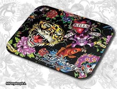 ED HARDY Mouse Pad Larger Allover 2 - Full Color / podložka pod myš