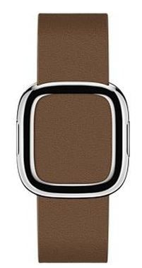 Apple Watch Modern Buckle 38mm Large / pásek pro Apple Watch / 160–180mm / Kožený / hnědý
