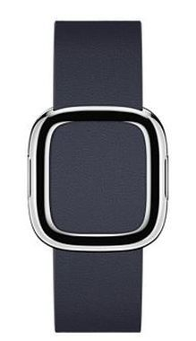 Apple Watch Modern Buckle 38mm Medium / pásek pro Apple Watch / 145–165mm / Kožený / modrý