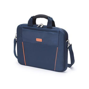 "Dicota Slim Case BASE 12-13.3"" / Brašna na notebook / do 13.3"" / Nylon / Modro-oranžový"