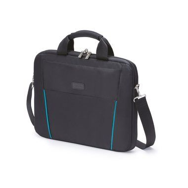 "Dicota Slim Case BASE 12-13.3"" / Brašna na notebook / do 13.3"" / Nylon / černo-modrý"