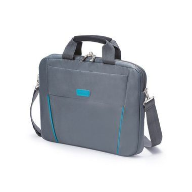 "Dicota Slim Case BASE 14-15.6"" / Brašna na notebook / do 15.6"" / Nylon / šedo-modrý"