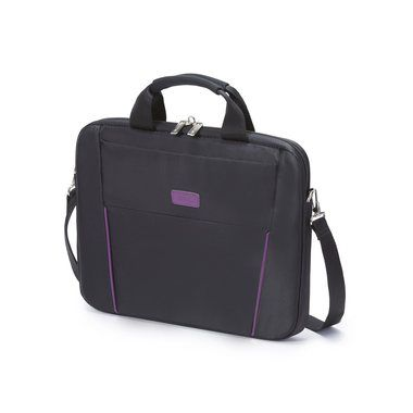 "Dicota Slim Case BASE 14-15.6"" / Brašna na notebook / do 15.6"" / Nylon / černo-fialová"