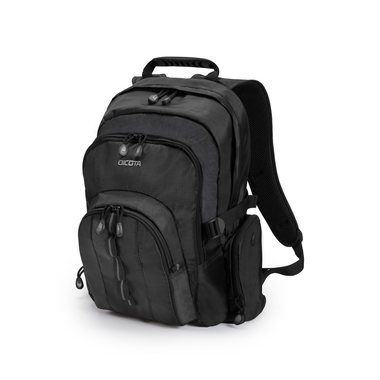 "Dicota Backpack Universal 14-15.6"" / Batoh na notebook / do 15.6""/ Polyester / černý"