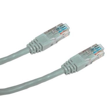 DATACOM Patch kabel UTP CAT6 / 7m / šedý