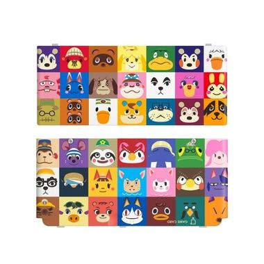 New 3DS Cover Plate 27 - Animal Crossing HHD