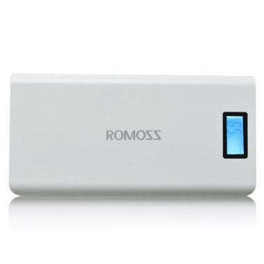 ROMOSS Solo 6 Plus / Power Bank / 16.000mAh / Bílá